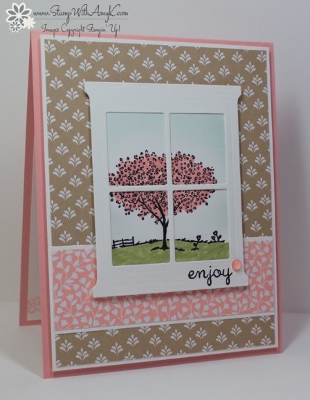 Happy Home - Stamp With Amy K