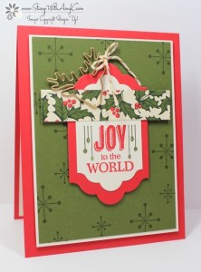 Jolly Christmas 1 - Stamp With Amy K