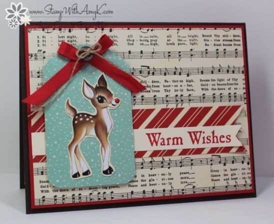 Winter Wishes - Stamp With Amy K