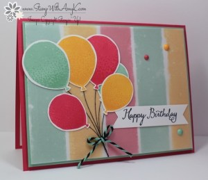 Balloon Celebration 2 - Stamp With Amy K