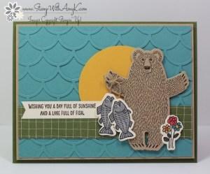 Bear Hugs 1 - Stamp With Amy K