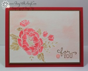 Birthday Blossoms 1 - Stamp With Amy K