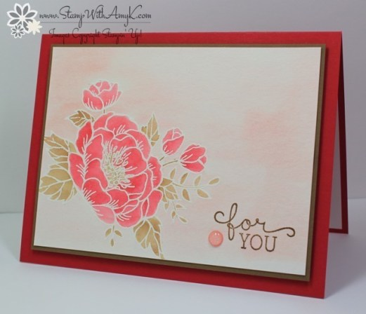 Birthday Blossoms - Stamp With Amy K