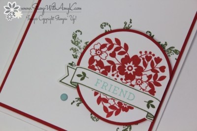 Bloomin' Love 3 - Stamp With Amy K