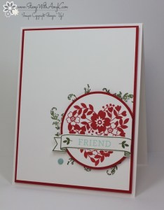 Bloomin' Love 5 - Stamp With Amy K