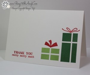 Your Presents 1 - Stamp With Amy K