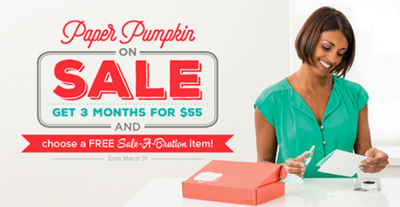 Paper Pumpkin On Sale - Stamp With Amy K