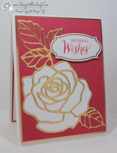 Rose Wonder 2 - Stamp With Amy K