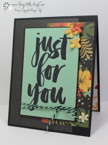 Botanicals For You 2 - Stamp With Amy K