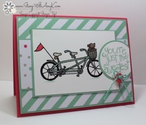 Pedal Pusher 2 - Stamp With Amy K
