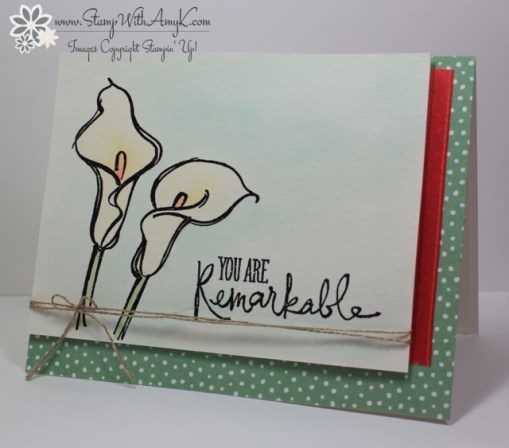 Remarkable You - Stamp With Amy K