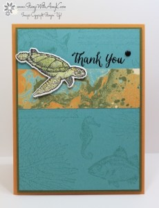 From Land to Sea 1 - Stamp With Amy K