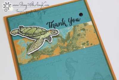 From Land to Sea 3 - Stamp With Amy K