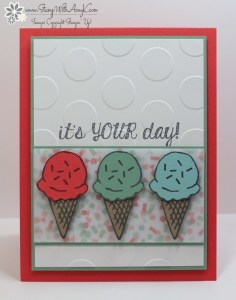 Honeycomb Happiness 1 - Stamp With Amy K
