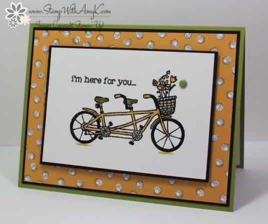 Pedal Pusher - Stamp With Amy K