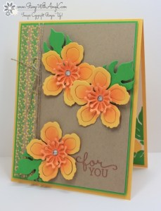 Birthday Blooms 2 - Stamp With Amy K