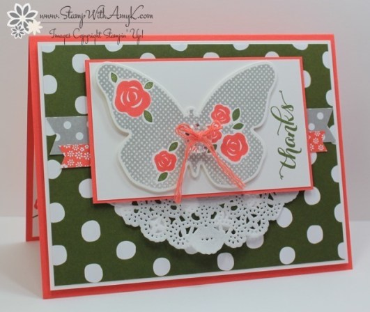 Floral Wings - Stamp With Amy K