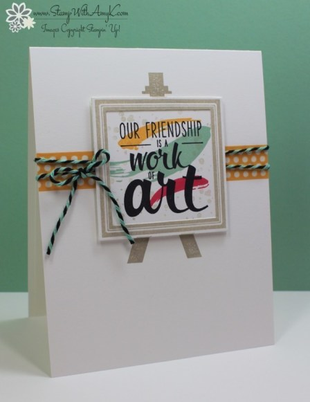 Painter's Palette - Stamp With Amy K