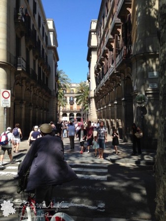 Barcelona 1 - Stamp With Amy K