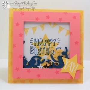 Confetti Celebration 1 - Stamp With Amy K