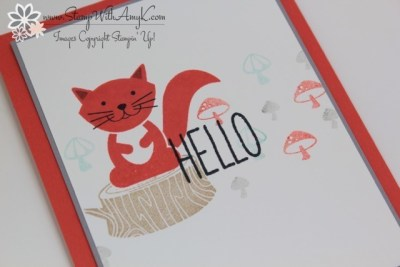 Foxy Friends 3 - Stamp With Amy K