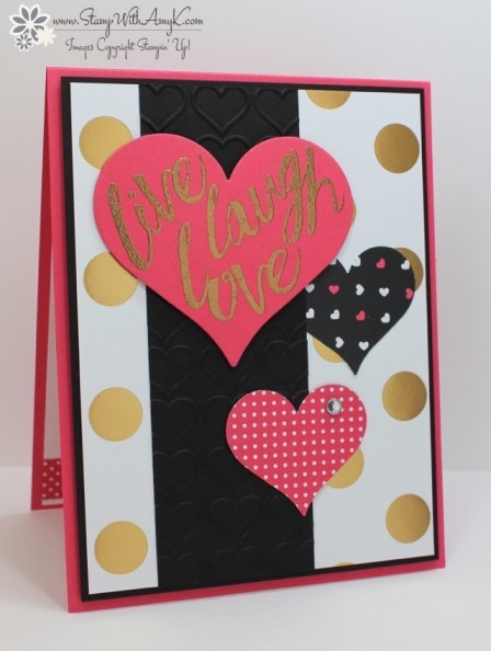 Layering Love - Stamp With Amy K