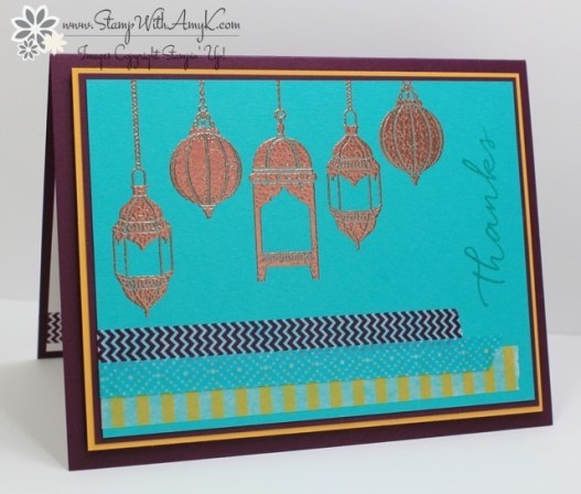Moroccan Nights - Stamp With Amy K