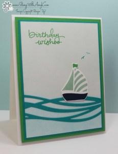 Swirly Bird 2 - Stamp With Amy K