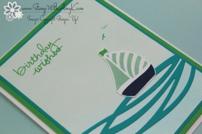 Swirly Bird 3 - Stamp With Amy K