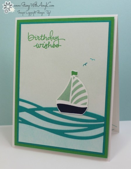 Swirly Bird - Stamp With Amy K