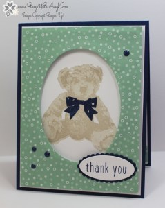 Baby Bear 2 - Stamp With Amy K