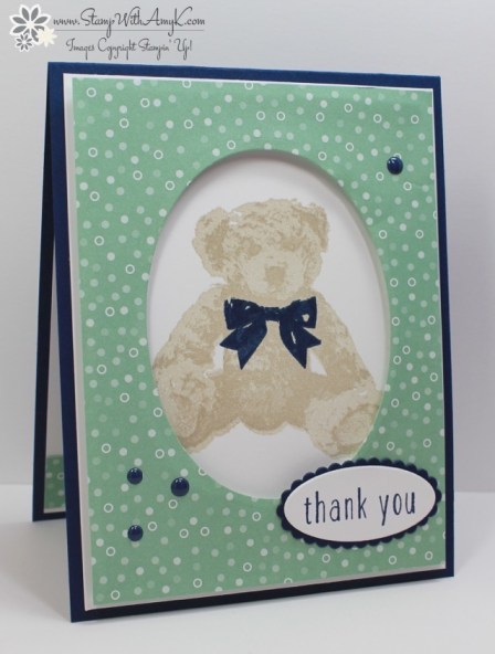 Baby Bear - Stamp With Amy K