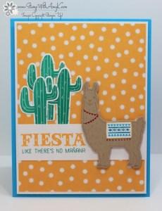 Birthday Fiesta 1 - Stamp With Amy K