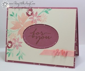 Blooms & Wishes 2 - Stamp With Amy K