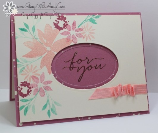Blooms & Wishes - Stamp With Amy K