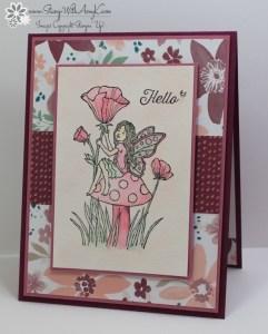 Fairy Celebration 2 - Stamp With Amy K