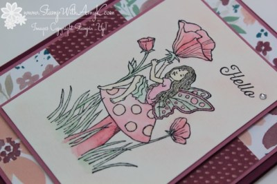 Fairy Celebration 3 - Stamp With Amy K