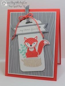 Foxy Friends 2 - Stamp With Amy K