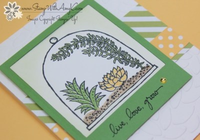 Live, Love, Grow 3 - Stamp With Amy K