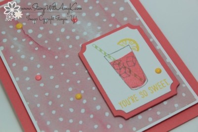 Mixed Drinks 3 - Stamp With Amy K