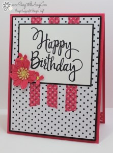 Stylized Birthday 2 - Stamp With Amy K