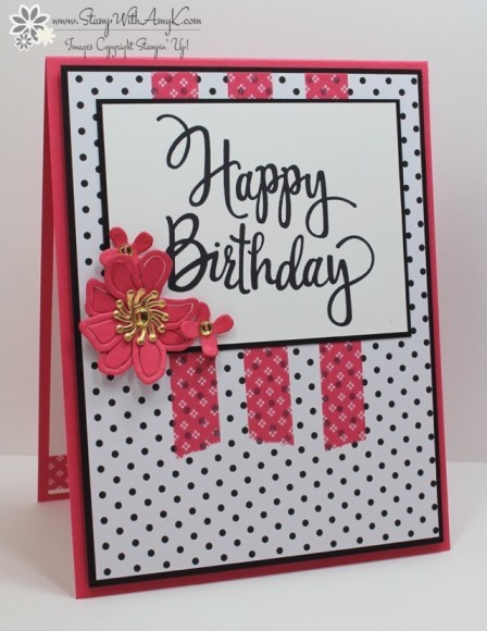Stylized Birthday - Stamp With Amy K