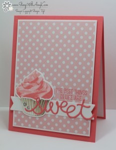 Sweet Cupcake 2 - Stamp With Amy K