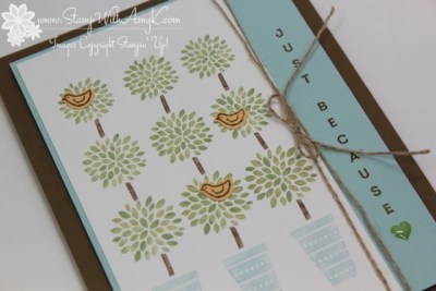 Vertical Greetings 3 - Stamp With Amy K