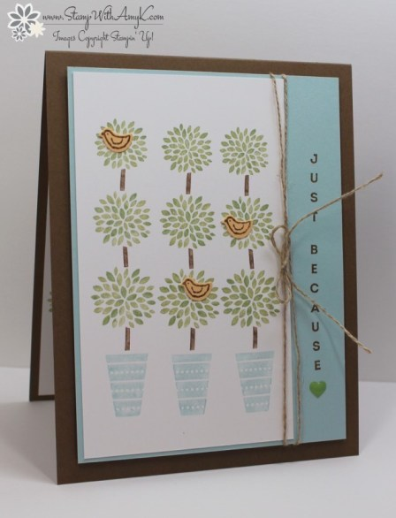 Vertical Greetings - Stamp With Amy K