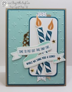 Birthday Banners 1 - Stamp With Amy K