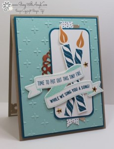 Birthday Banners 2 - Stamp With Amy K