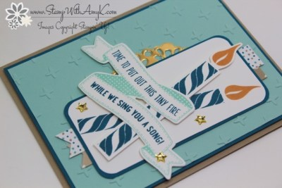 Birthday Banners 3 - Stamp With Amy K