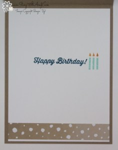 Birthday Banners 4 - Stamp With Amy K