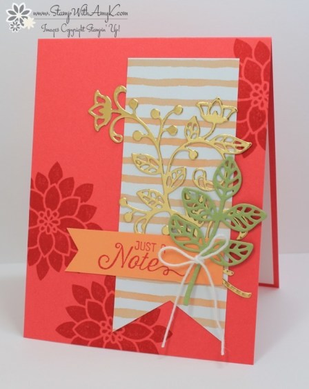 Flourishing Phrases - Stamp With Amy K